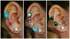Wire Ear Cuffs ~ Wire Jewelry Tutorials