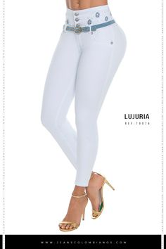 Jeans Levanta Cola Ref: Lujuria 79074 Cute Comfy Outfits, Cool Outfits, Fashion Outfits, Womens Fashion, Best Jeans For Women, Pants For Women, Clothes For Women, Stylish Jeans, Sexy Jeans