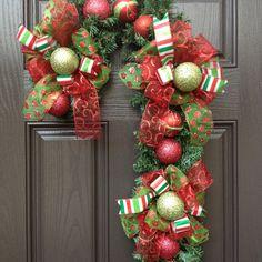 Christmas Candy Cane. $125.00, via Etsy.