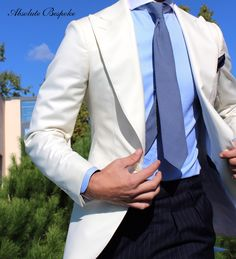 Handcrafted accessories for men. Mens Fashion Wear, Gents Fashion, Suit Fashion, Male Fashion, Fashion Outfits, Contrast Collar Shirt, Blazer Outfits Men, Smart Outfit, Mens Clothing Styles