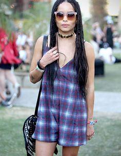 Coachella Fashion 2015 - Zoe Kravitz