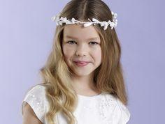 Blüten-Haarkranz mit Bändern