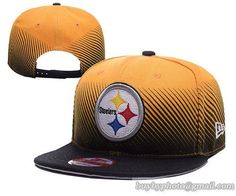 Pittsburgh Steelers Snapback Hats NFL Line Fade 9FIFTY Snapback Cap Nfl  Lines dc19084a5