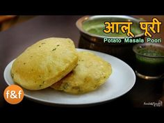 (Last Updated On: April puri is a quick breakfast and kid's lunch box recipe which can be made very quickly. This potato. Indian Potato Recipes, Best Indian Recipes, Puri Recipes, Paratha Recipes, Lunch Box Recipes, Dinner Recipes, Yummy Recipes, Aloo Puri