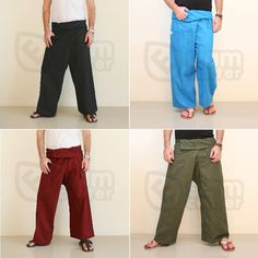 Fisherman or hippie pants are loose fitting cotton #pants and extremely cool.  Check them @ http://bit.ly/1wrhLeX