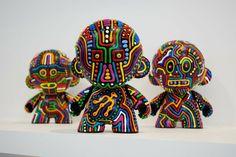 Munny Dolls by Dave Behrens
