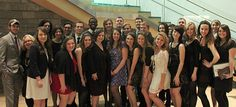 Liberty University art students attend the local American Advertising Awards competition.