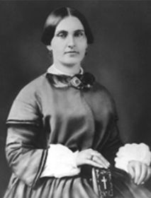 Mary Surratt, the owner of the boarding house where the Lincoln Assissination plot was supposedly planned.