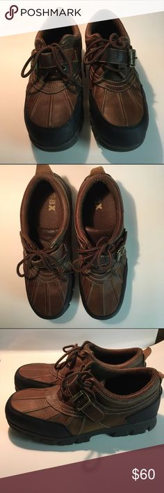 Men's GBX Brown Shoes. Size 12M. Men's GBX Brown Shoes. Size 12M. Leather with man made uppers. Excellent used condition!                           🌟REASONABLE OFFERS ARE ALWAYS WELCOME🌟BUNDLE TO SAVE🌟 GBX Shoes Chukka Boots