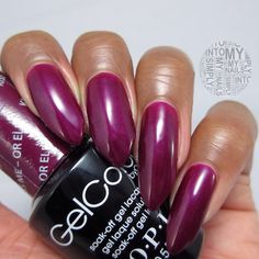 OPI Gelcolor Kiss Me - Or Elf! from the Gwen Stefani Holiday collection 2014