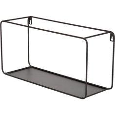 Seinähylly 39 x 19 cm Wall Shelf Unit, Wall Shelves, Black Plant Stand, Metal Shoe Rack, Black Tray, Wire Storage, Metal Baskets, Hanger Rack, Metal Side Table