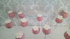 Cherry blossom cakepops