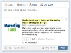 How To Maximize Facebook's Recent Link Upgrade