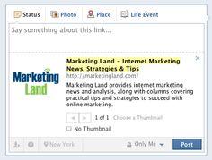How To Maximize Facebook's Recent Link Upgrade #facebook