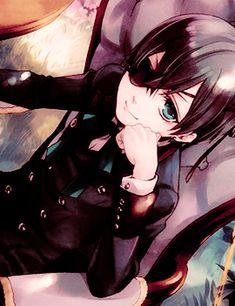 Image de black butler, anime, and kuroshitsuji