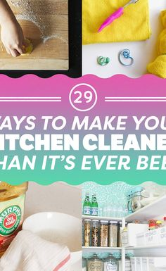 29 Ways To Make Your Kitchen Cleaner Than It's Ever Been