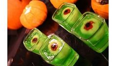 Halloween Jello shots... Im gonna do these w/ the kids (minus the alcohol of course)