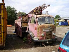Early 1950's Commer Fire Engine