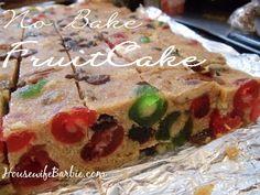 An American Housewife: No Bake Fruitcake Bars - Christmas Baking Classic Cake Bars, Dessert Bars, Baking Recipes, Cookie Recipes, Dessert Recipes, Holiday Baking, Christmas Baking, Christmas Goodies, Christmas Candy