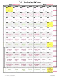 P90X/run schedule--- try p90x , also challenging but a bit more sane than insanity!