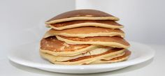 These pancakes come out super fluffy and light. They are so good my kids will eat them without syrup! This Easy Homemade Pancake Recipe is perfect for Saturday morning breakfast or even breakfast for Easy Homemade Pancakes, How To Make Pancakes, Tasty Pancakes, Fluffy Pancakes, Buttermilk Pancakes, Protein Pancakes, Oatmeal Pancakes, Dinner Pancakes, Ihop Pancakes