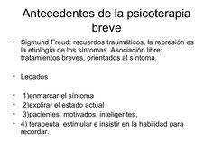 tcnicas-de-psicoterapia-breve by Psicología y Educación Integral A.C. via Slideshare