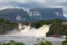 El Parque Nacional Canaima constituye uno de los territorios más antiguos y mejor conservados del planeta