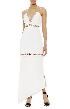 Loop Tiers Maxi Dress - Dresses | Nicole Miller