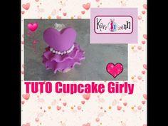 TUTO FIMO Cupcake Girly