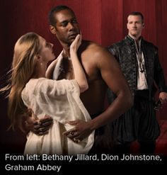 Stratford Festival: 'Othello', excellent! G and M review: 'With each corkscrew-twist of Julie Fox's rotating platform set, it feels as though we're spiralling down into a hell of pure malice, agonizing doubt and poisonous jealousy...' rapier-sharp performance by Graham Abbey as Iago and a heart-piercing one by Dion Johnstone as the Moor.' (And I wondered why I found it so hard to applaud GA (Iago), whom I have thoroughly enjoyed over the years - until Dion (Othello) took his hand! Thanks.