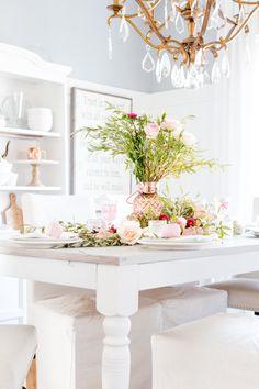 White room decor, pink home decor, gold lanterns, chic halloween, decoratin White Room Decor, Pink Home Decor, Home Decor Items, Gold Lanterns, Chic Halloween, Rose Gold Decor, Fall Decor, Holiday Decor, Gold Bedroom