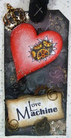 The Hobby Room UK (Michelle Webb): Free Love Machine digi stamp