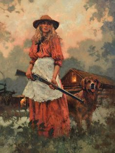 2017 // 2018 — C. West Art, Westerns, Cowboy Art, Beauty Art, Pretty Art, Art Auction, Aesthetic Art, Traditional Art, Unique Art