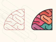 Graphic Design - Colorful - Brain Construct