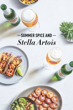 Cool off from the summer heat with Stella Artois. Our lager's refreshing flavor profile eases the heat of spicy dishes without sacrificing any of the flavor. Cut through the spice and bump up the taste of your Cajun shrimp tacos with our crisp Belgian beer.