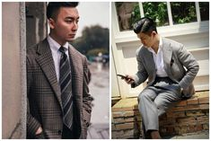 Suit Jacket, Breast, Vintage Fashion, Asian, Mens Fashion, Blazer, Suits, Jackets, Clothes