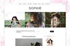 WordPress Theme, Responsive - Sophie