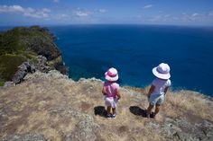 Elsie and Pixie on Malabar | Lord Howe Island