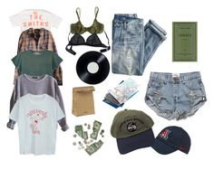 """road trip"" by riz-zy on Polyvore featuring Opening Ceremony, Timberland, Levi's, American Apparel, J.Crew, One Teaspoon, NIKE, Jil Sander, Cosabella and Eres"