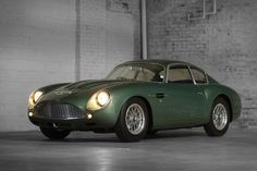The DB5 is more widely known, thanks to a certain secret agent, but it's the DB4GT that's most sought after by collectors. This 1962 Aston Martin DB4GT was just the 14th of only 19 DB4 GT's modified by Italian shop...