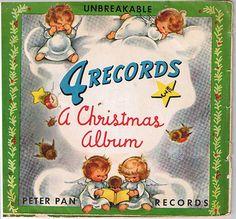 Vintage Christmas Record