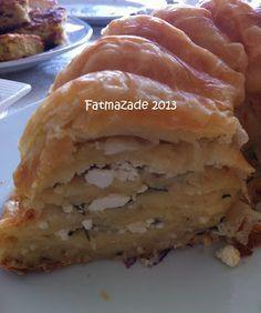Hem çok basit hemde farklı bir sunum isteyenler için su böreği tadında güzel bir börek...  Malzemeler;  -5 yufka  -2 yumurta  -1 su bard...