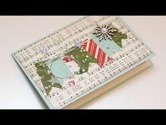 12 Karten bis Weihnachten 2015 ~ Karte #11~ Stampin' Up! - YouTube