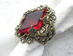 antique looking ring