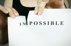 How To Make The Impossible Possible - The Carol Blog