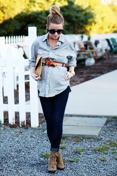 love this outfit (pregnant or not!)