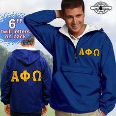 Alpha Phi Omega Fraternity Pullover Jacket                                                                                                                                                                                 More
