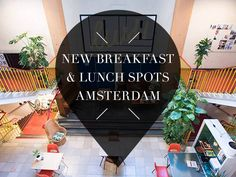 Curious about the latest spots for breakfast and lunch in Amsterdam? Find them all in the Amsterdam City Guide of Your Little Black Book.
