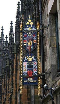 The Witchery - Edinburgh, Scotland  aka The Witchery by The Castle wonderful restaurant.