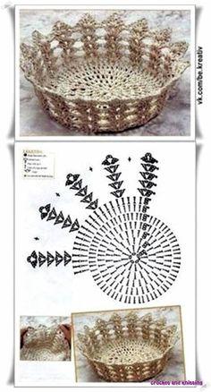 Crochet Patterns Needles Posts on the topic 'knitting', add 'We knit beautiful baske …We knit beautiful baskets from a twine Crochet Box, Crochet Hook Set, Crochet Gifts, Crochet Bedspread Pattern, Crochet Basket Pattern, Crochet Patterns, Crochet Ideas, Crochet Tablecloth, Crochet Doilies